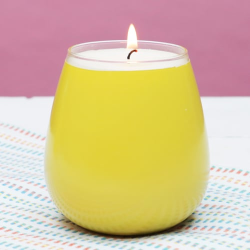 DIY SoulCycle Grapefruit Wake-Up Candle