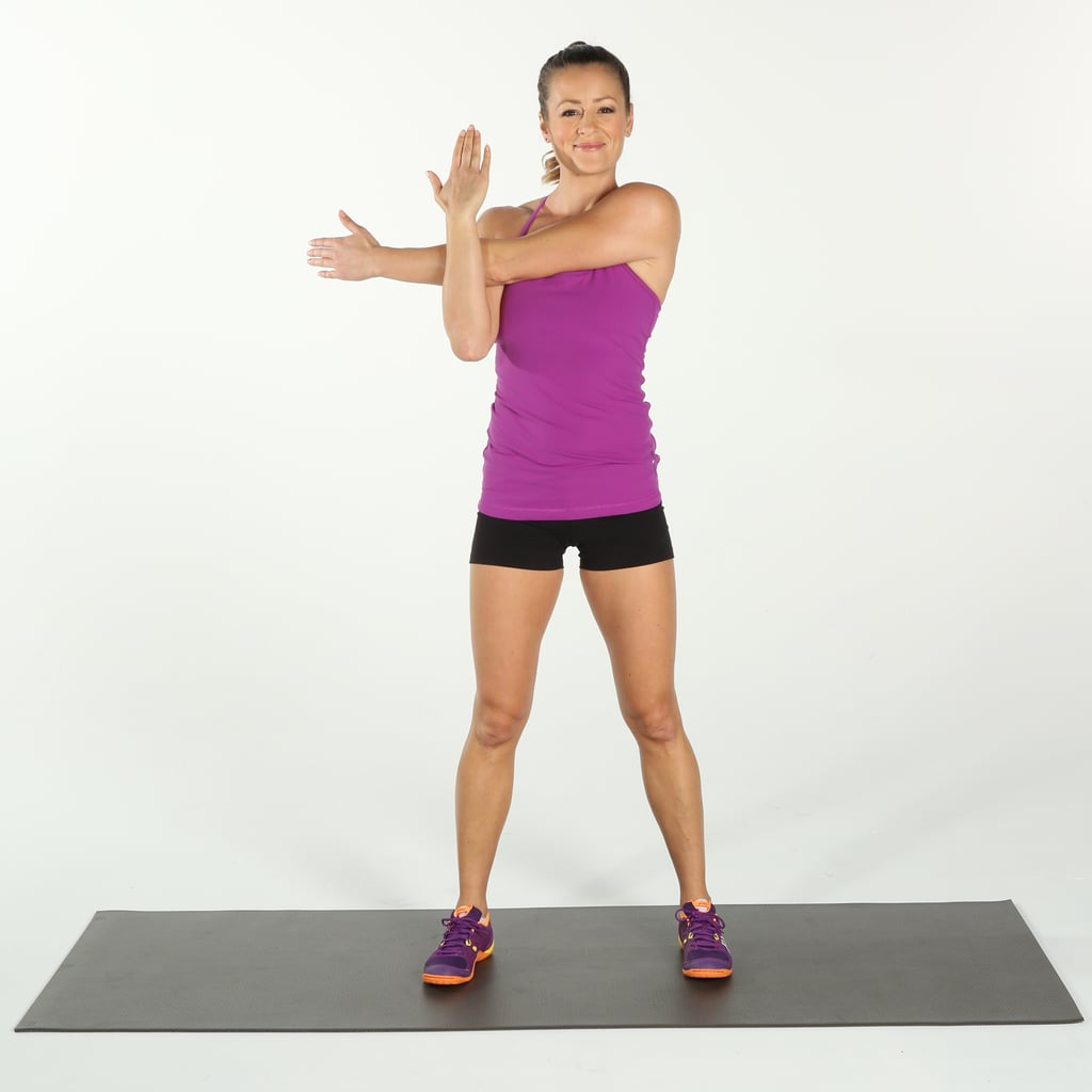 Deltoids Stretch Best Recovery Stretches Popsugar Fitness Photo 6
