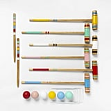 Lawn Sports Croquet Set Variegated Stripe