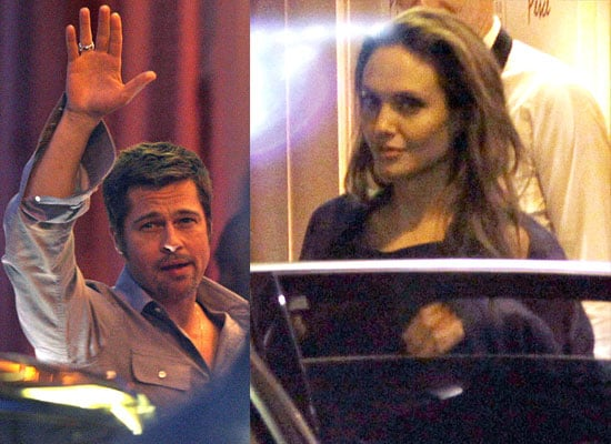 20/05/2009 Brad Pitt and Angelina Jolie in Cannes