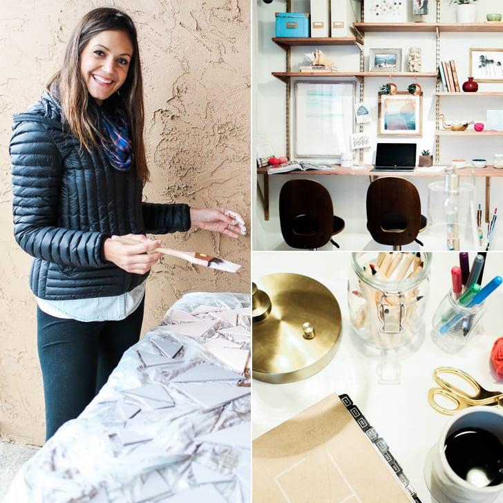 Desiree Hartsocks Home Office Makeover POPSUGAR Home