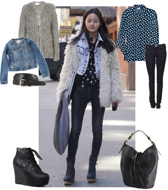 Photos of Hyoni Kang New York Fashion Week Street Style