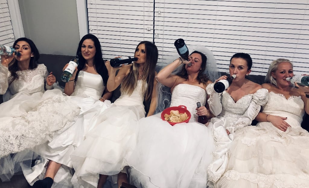 Women Support Friend's Divorce With a Party