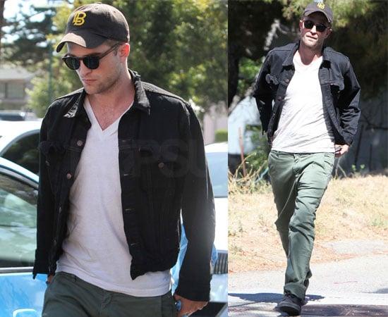 Pictures of Robert Pattinson in Malibu