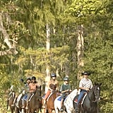 You Can Go Horseback Riding at Disney's Fort Wilderness Campgrounds