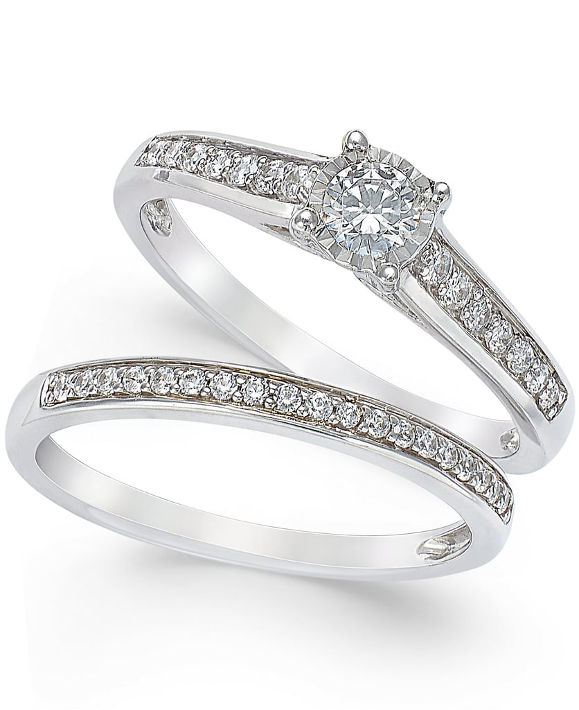 if you want to get the whole set - Affordable Diamond Wedding Rings