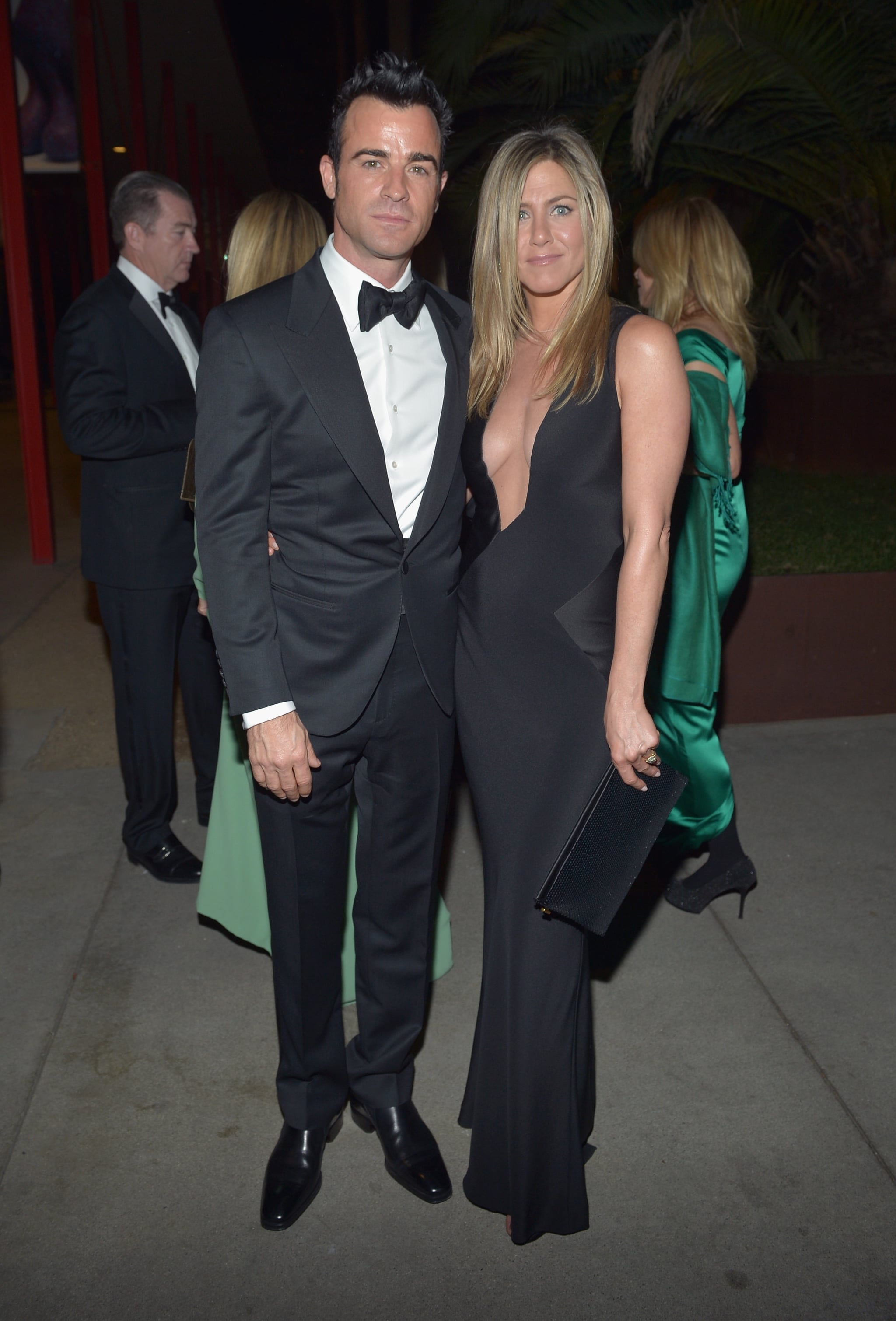 For The 2012 Lacma Event Jennifer Aniston Turned Up The Heat In A Jennifer Aniston Goes Back To Black For We Re The Millers Popsugar Fashion Photo 13