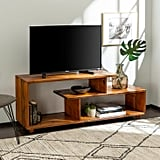 Rustic Modern Solid Wood TV Stand