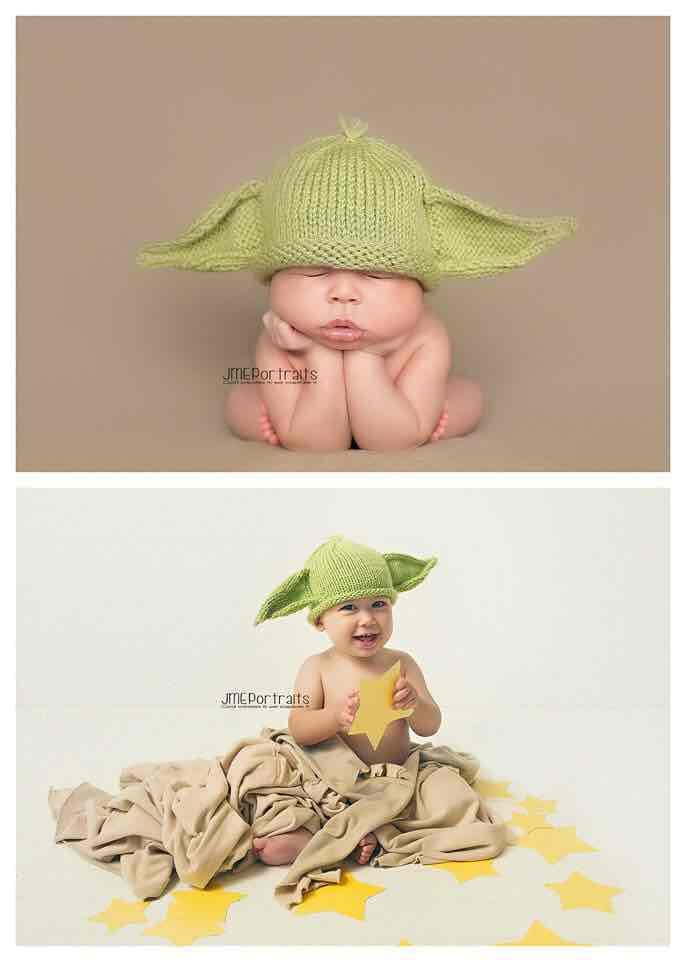 Jedis grow up really fast, no matter how strong the force is
