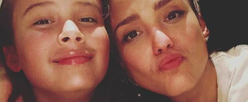 Cute Photos of Jessica Alba and Her Kids