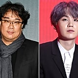 Bong Joon-Ho and Suga