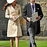 Kate at Zara Phillips's Wedding in 2011