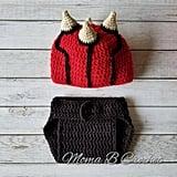 Crochet Darth Maul Baby Set