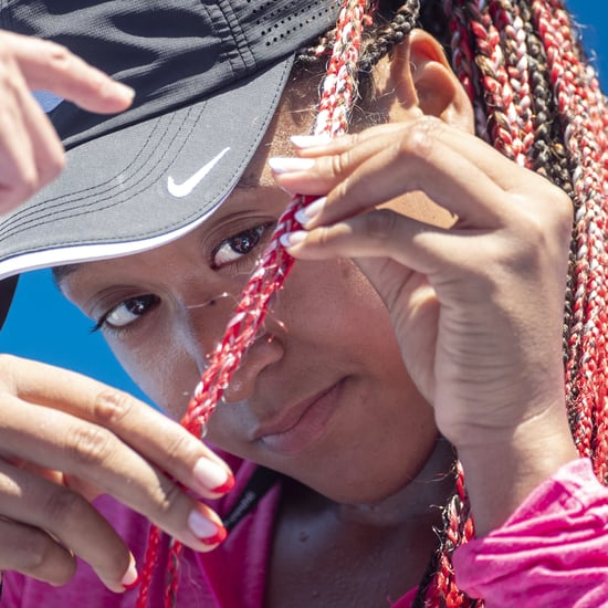 See Naomi Osaka's Red Braids For the Tokyo Olympics