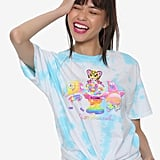 Lisa Frank x SpongeBob Girls Gumball Knotted Tee ($25)