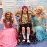 Students Volunteer at Children's Hospitals as Princesses