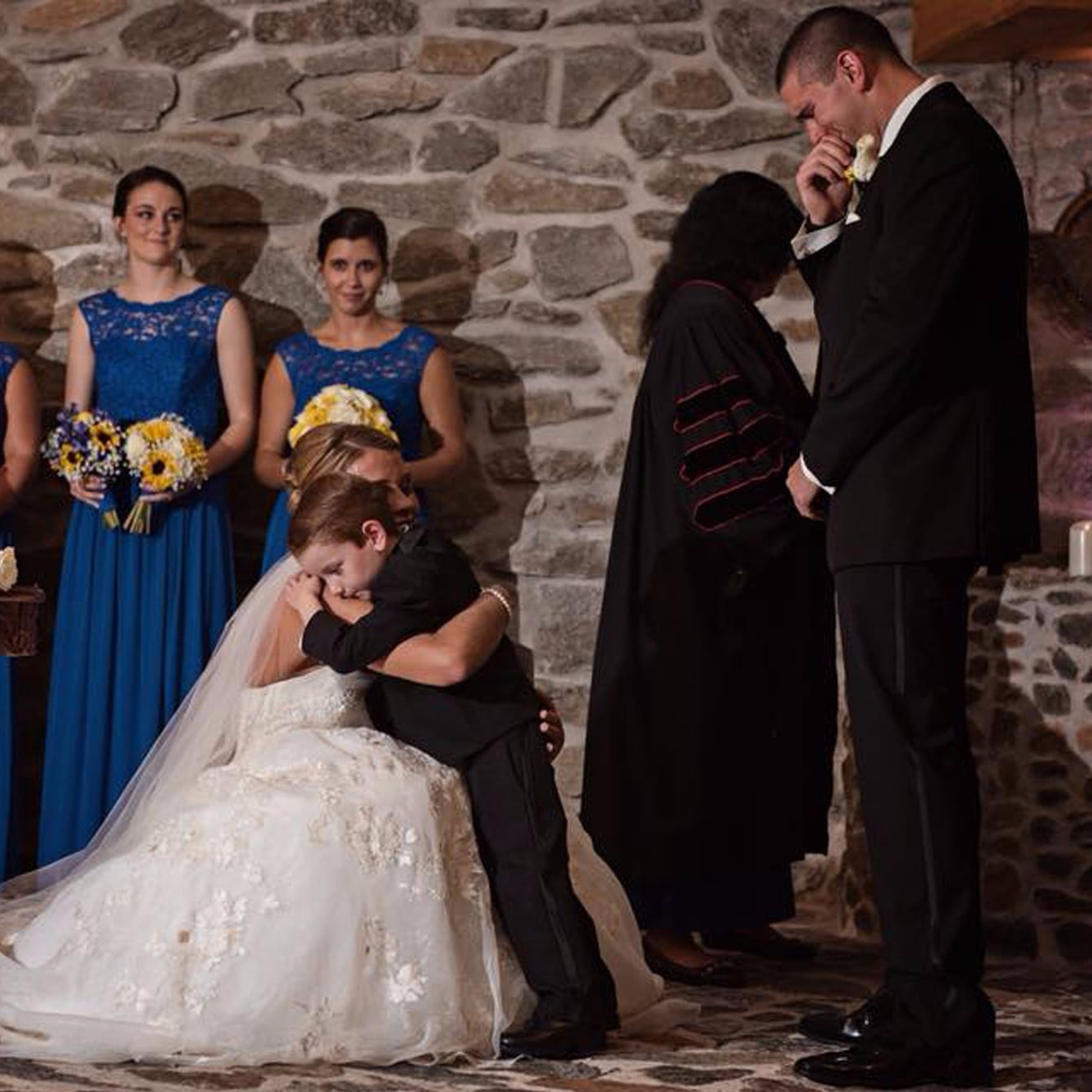 Stepmoms Wedding Vows To Her Stepson And Coparents Popsugar Family