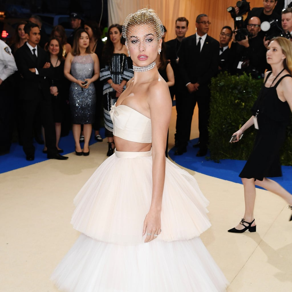 Hailey Baldwin Met Gala Dress 2017