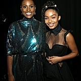 Pictured: Issa Rae and Yara Shahidi