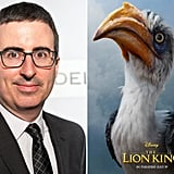 Who Plays Zazu in The Lion King Reboot?