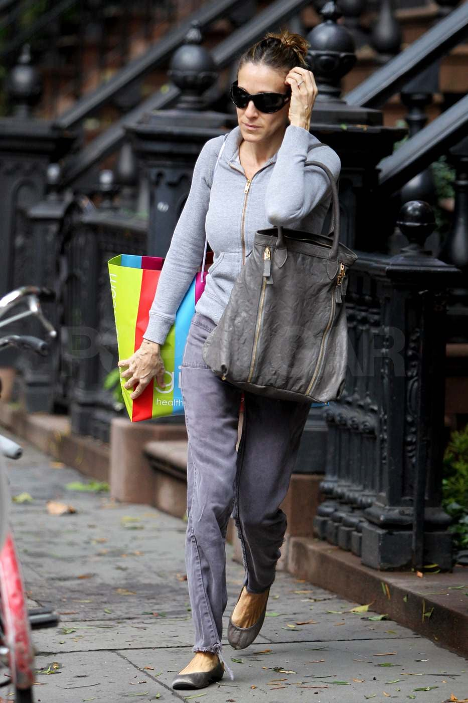 Pictures of Sarah Jessica Parker Leaving Her New York ...