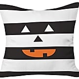 "DENY Designs Zoe Wodarz Hide and Seek Halloween Throw Pillow — Black (20""x20"") ($50)"