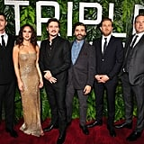 Pictured: Garrett Hedlund, Adria Arjona, Pedro Pascal,  Oscar Isaac, Charlie Hunnam, and Ben Affleck