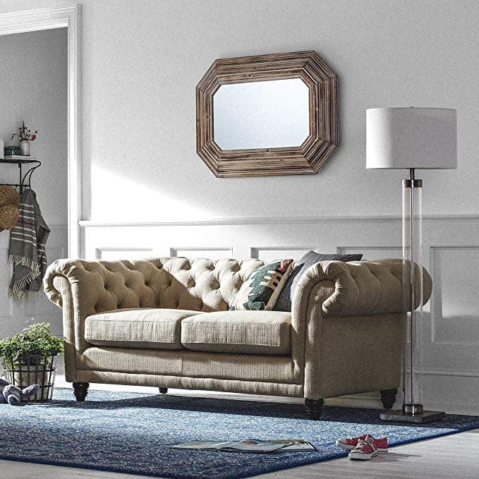 Stone Beam Bradbury Chesterfield Tufted Sofa Amazon Prime Day