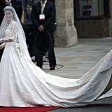The Duchess of Cambridge in Alexander McQueen, 2011