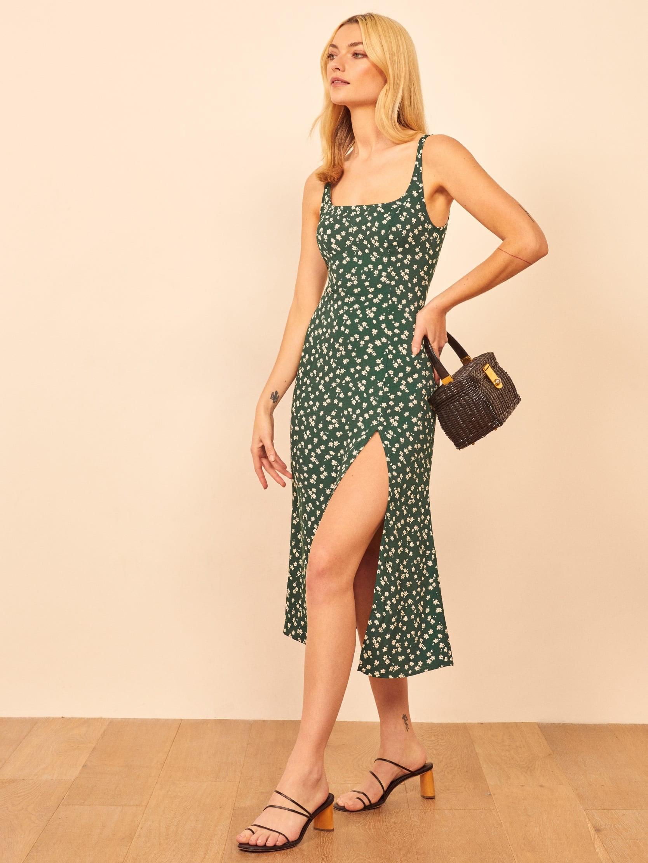 Olivia Munn S Green Dress From Love Wedding Repeat Popsugar Fashion