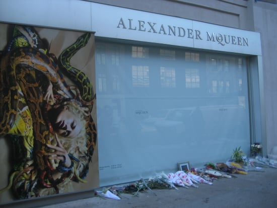Flowers for McQueen