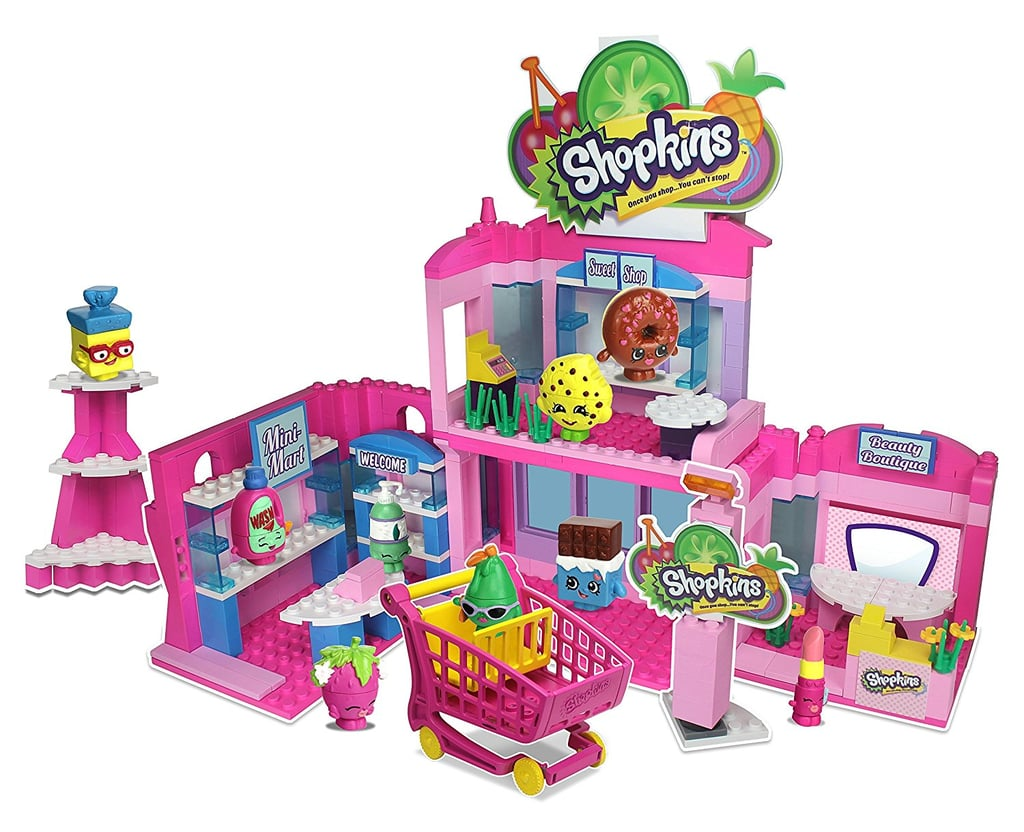 For 6-Year-Olds: Shopkins Kinstructions Shopville Town Center Model