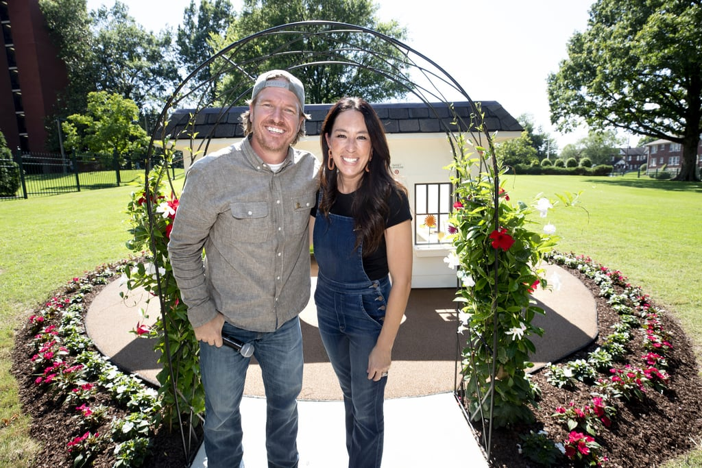 "What happens when you mix Chip and Joanna Gaines, Target, and Jo's book We Are the Gardeners? An incredible collaboration that resulted in epic surprises for the kids at St. Jude Children's Research Hospital in Memphis, TN. At the Bullseye's Garden Gathering for St. Jude and Target House families, the Fixer Upper stars held storytime and a host of garden-themed activities, but the even bigger surprises waited for the kids and their families back at Target House: a brand-new permanent playhouse and a donation check for $1.5 million. And yes, the playhouse features plenty of shiplap!      Related:                                                                                                           Chip and Joanna Gaines Are Launching a Cable Network in 2020 — Here's What We Know               ""As we walked in today, a little boy told us that he's 'demo day-ing' his cancer treatment and that's pretty much the best thing I've ever heard."" ""As we walked in today, a little boy told us that he's 'demo day-ing' his cancer treatment and that's pretty much the best thing I've ever heard. In our world, demo day marks the end of one chapter and the beginning of a newer, more exciting one. And that's exactly what we want for you — we're pulling for each and every one of you,"" Chip said, according to Target's blog, A Bullseye View. He added later: ""We left our last experience at St. Jude feeling changed. What they do at the hospital is nothing short of amazing and we're just honored that we get to spend time with these kids and their families."" Of the beautiful garden playhouse, Joanna said: ""When we heard that the space outside of Target House could use a little love, we knew right away that we wanted to create a sweet playhouse for the kids to enjoy. There's something so special about spending time together outside and while we're hopeful that these families will not have to stay here for very long, we wanted to create a little retreat for them to explore while they are here . . . Our hope is that this space brings a bit of joy to the families here."" Keep scrolling to see some of the adorable photos from the day's events.      Related:                                                                                                           Joanna Gaines Says She's Turned Into ""Fun Jo"" Since Having Her Baby — Meet All 5 Adorable Gaines Kids"