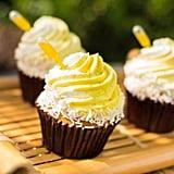 Pineapple Whip Swirl Cupcake