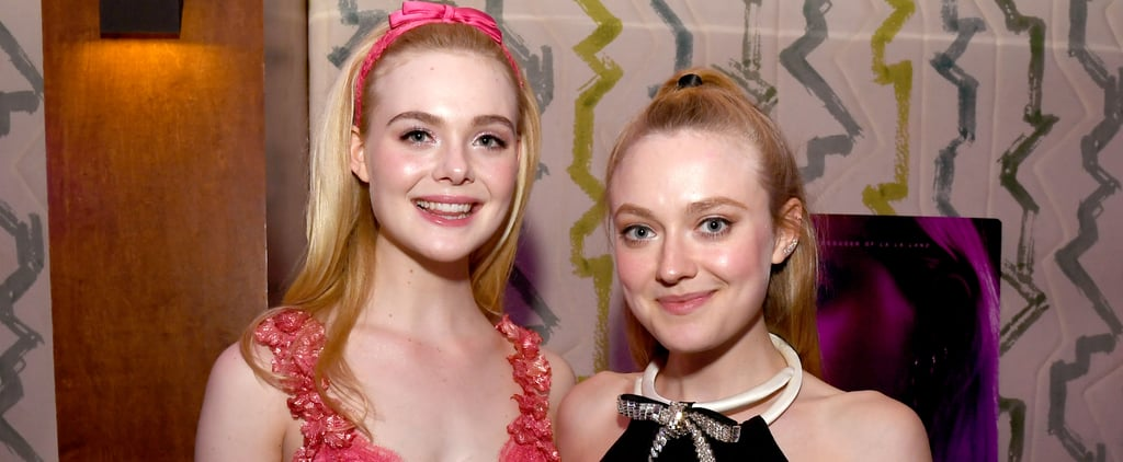 Watch Elle and Dakota Fanning's Throwback Halloween Video