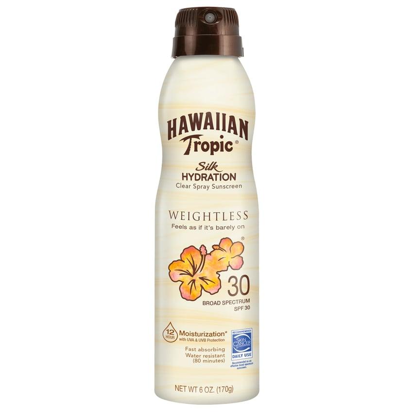 Hawaiian Tropic Silk Hydration Weightless Clear Spray Sunscreen