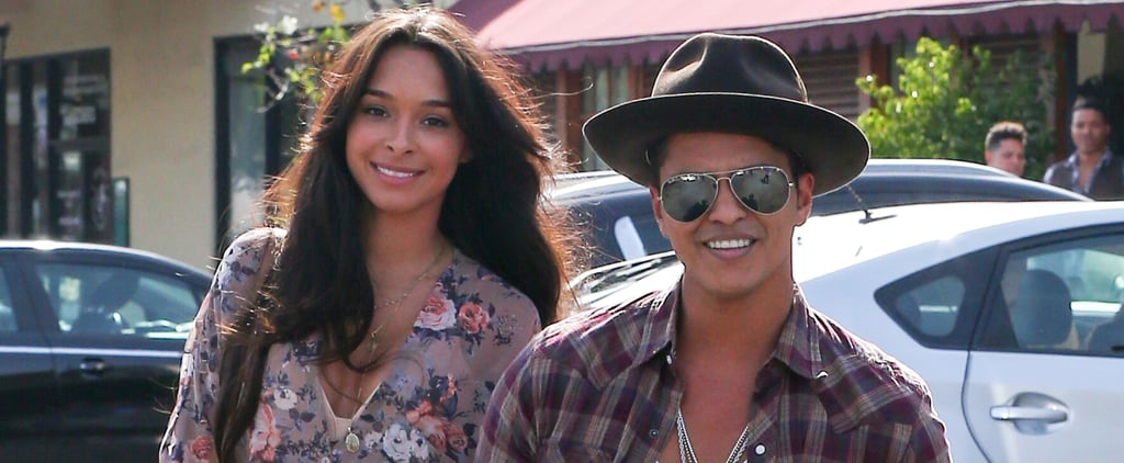 Pictures of Bruno Mars and His Girlfriend Jessica Caban