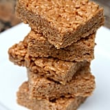 Peanut Butter Protein Rice Krispies Treats