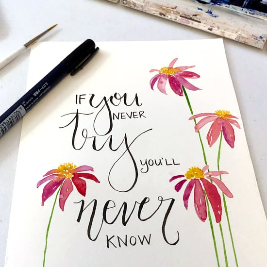 How Does Mindful Lettering Help With Stress Relief