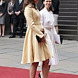 Kate Middleton walked into the Thistle Ceremony in Scotland.