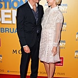Josh Lawson and Rachael premiered their romantic comedy Any Questions For Ben? together in Sydney in Feb. 2012.