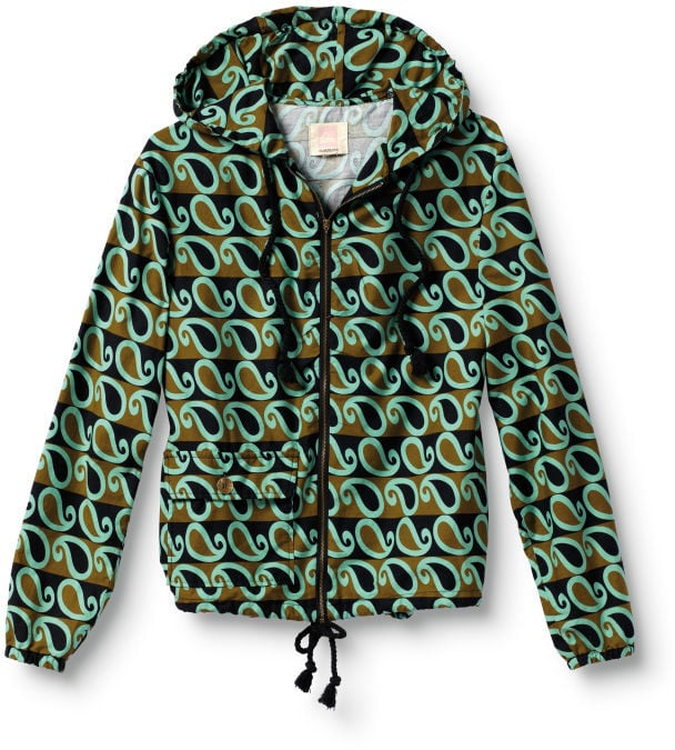 There's something about paisley print that instantly gets us excited for Spring.  Quiksilver Surf Club Windbreaker ($85)