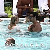 Joe Jonas and Sophie Turner Kissing in Miami August 2018