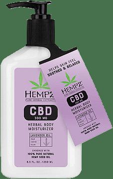 Lavender Oil 300mg CBD Herbal Body Moisturizer