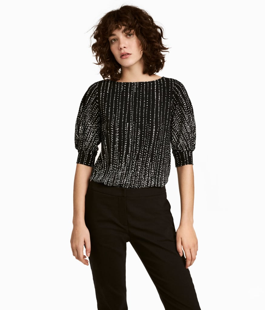 H&M Crêped Top