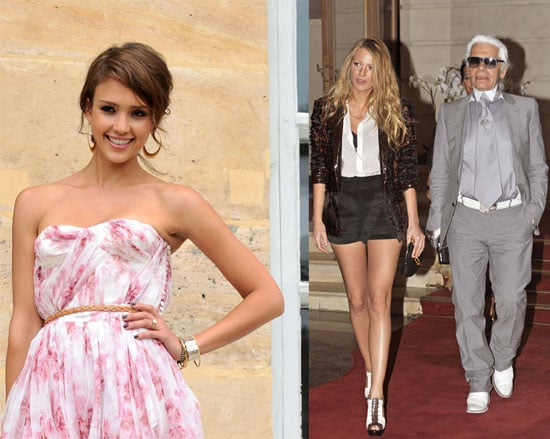 Blake Lively, Jessica Alba, Claire Danes, and More at Paris Fashion Week 2010-07-06 17:30:20