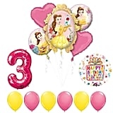 Beauty and The Beast 3rd Birthday Party Balloon Set