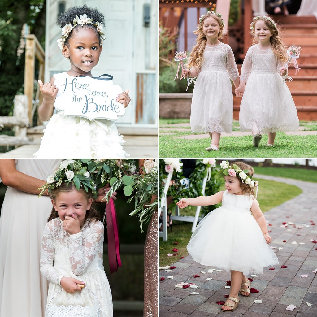 95da7a499 Cute Flower Girl Pictures | POPSUGAR Family