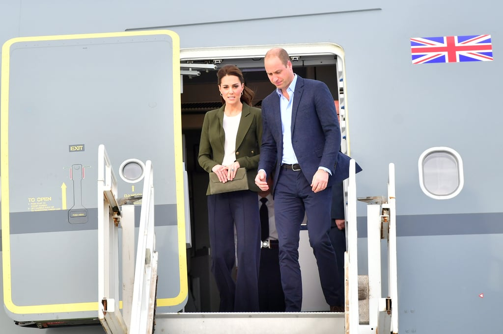 Kate Middleton Wearing a Smythe Duchess Wool Blazer