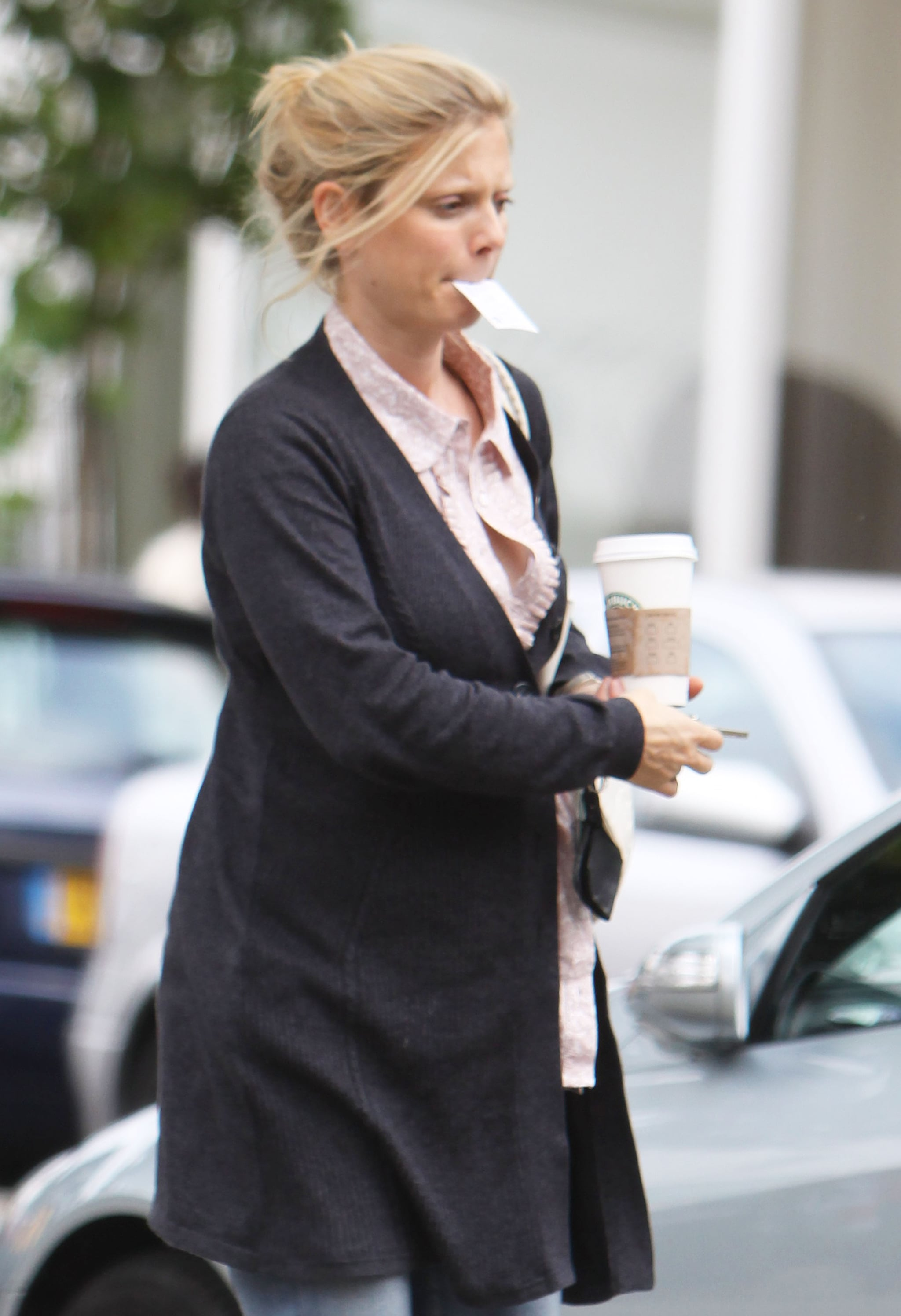 Pictures of Pregnant Emilia Fox | POPSUGAR Celebrity UK
